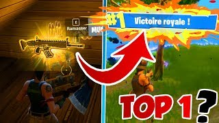 LE NOOB LE PLUS CHANCEUX DU MONDE (Arme LÉGENDAIRE) VA T-IL FAIRE UN TOP 1 FORTNITE ?! Battle Royale