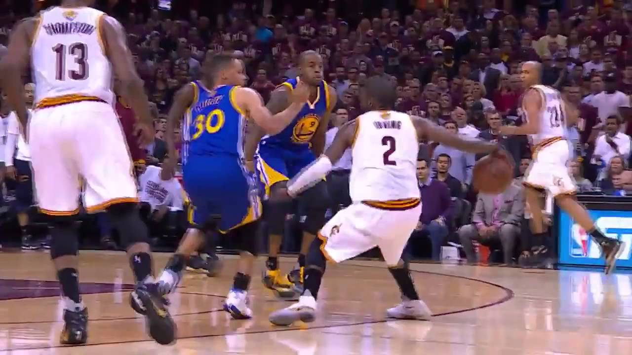 Kyrie Irving Crossover Stephen Curry Warriors vs Cavaliers Game 3 NBA Finals - YouTube