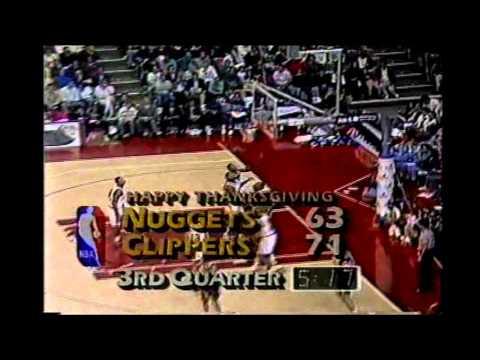 1993 Regular Season Denver@LA Clippers HIGHLIGHTS