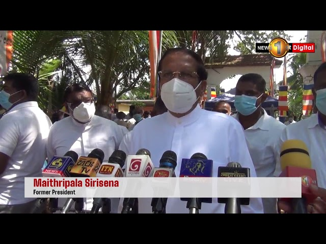 Sirisena says he opposed foreign involvement in ECT