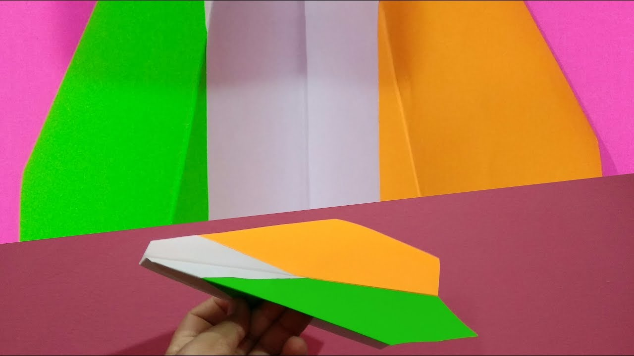 Craft For Flag Of India: How To Make Tricolour Paper