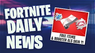 FREE ITEMS & BREAKPOINT PACK BUG - Fortnite Daily News (18 July 2019)