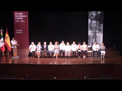 CONMEMORACION DEL EXILIO ESPAÑOL EN VERACRUZ13 de junio de 2019Teatro Francisco J. Clavijero