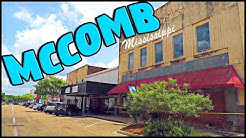 DRIVING THROUGH DOWNTOWN MCCOMB MISSISSIPPI