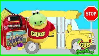 First Day of School Back to School for Kids Fun Learning Video with Gus the Gummy Gator thumbnail