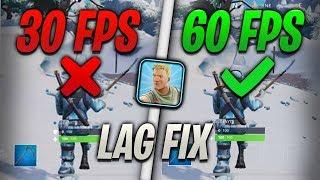 FORTNITE MOBILE LAG FIX!! - Ways To Fix Lag For Fortnite Mobile