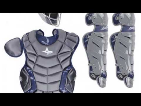 Allstar Intermediate System Seven Camo Catcher's Gear Set