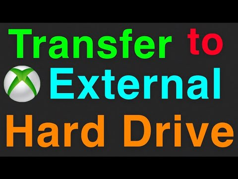 XBOX ONE HOW TO TRANSFER DATA TO EXTERNAL HARD DRIVE!