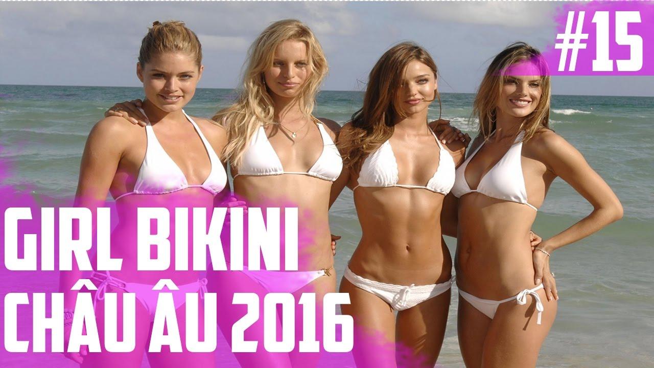 Hình Ảnh Gái Đẹp   Gái Bikini Châu Âu 2016   Part 15