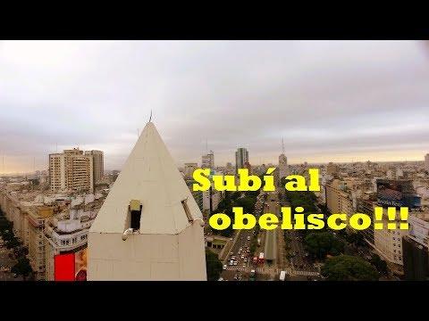 Subí a la punta del Obelisco | Buenos Aires | Argentina
