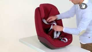 Maxi-Cosi l 2wayPearl car seat l How to remove & replace the cover