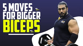 GROW YOUR BICEPS QUICKLY   5 BEST EXERCISES   Sangram Chougule