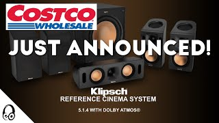 NEW!!! | Klipsch Reference Cinema System 5.1.4 with Dolby Atmos | Costco | Budget Atmos