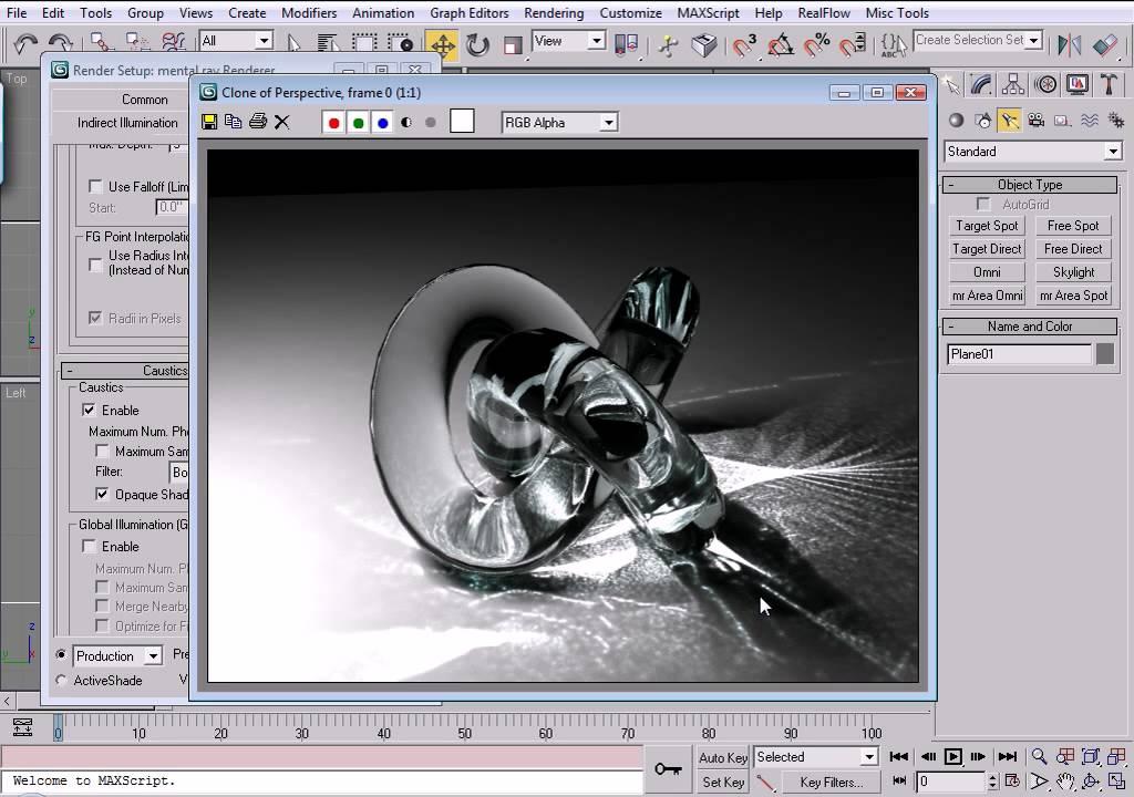 Realflow Для 3D Max 2009