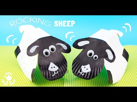 Rocking Paper Plate Sheep Craft  sc 1 st  YouTube & Rocking Paper Plate Sheep Craft - YouTube