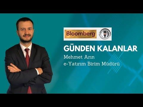 InvestAZ Mehmet Arın, BloombergHT Günden Kalanlar Yayını - Dolar ve Borsa Yorumu 14.10.2019