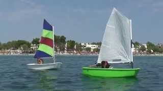 Kids Sailing - Majorca - Alcudia - Watersports Wind&Friends 2013
