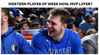 Luka Doncic Playing At MVP-Caliber Level   Western Conference Player Of The Week