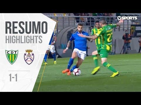 Highlights | Resumo: Tondela 1-1 Feirense (Liga 18/19 #26)