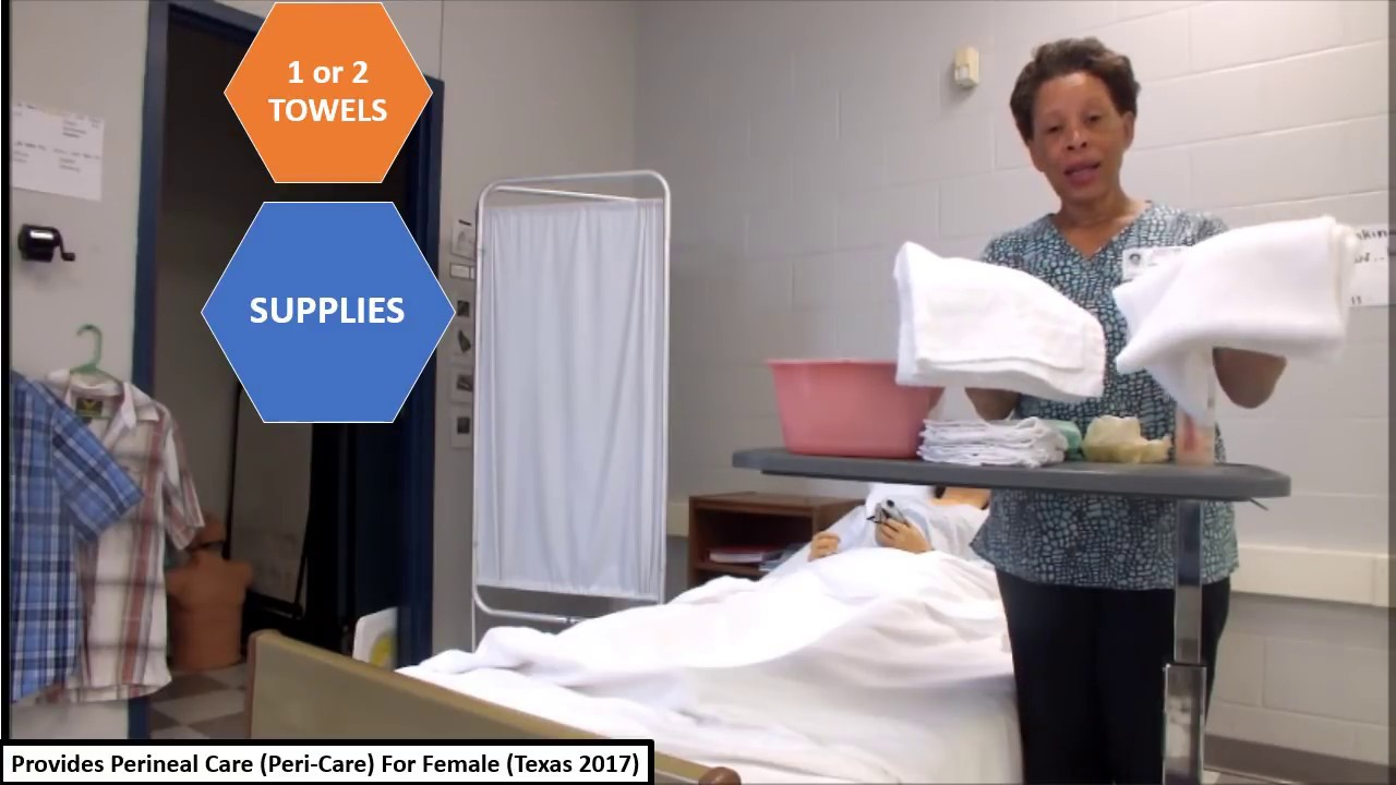 small resolution of julie reynolds perform perineal care peri care for female texas 2018