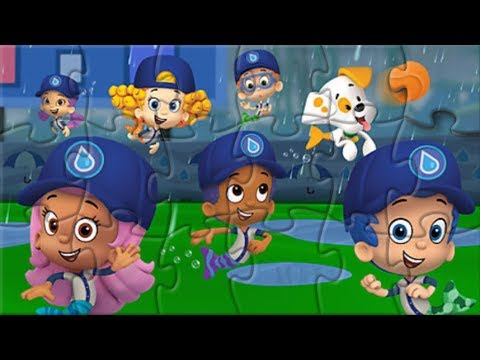 Bubble Guppies Save Water Jigsaw Puzzle Game For Kids Rompecabezas