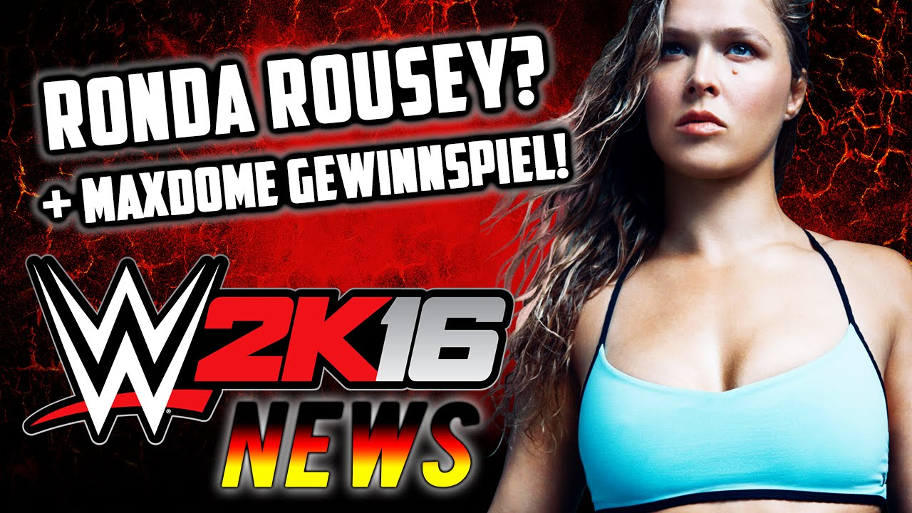 wwe 2k16 deutsch rob van dam ronda rousey gameplay wwe 2k16 news german youtube. Black Bedroom Furniture Sets. Home Design Ideas