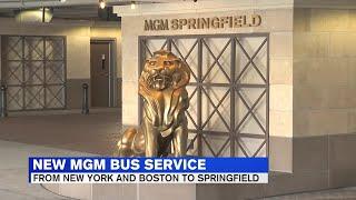 Greyhound service to MGM Springfield begins Monday