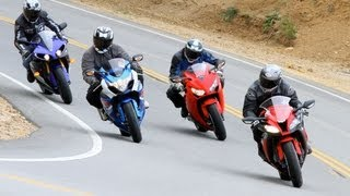 2012 Japanese Superbike Shootout - Road Test