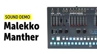 Malekko Manther Sound Demo (no talking)