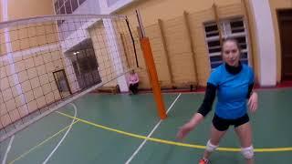 Волейбол от первого лица 2 (полный матч)