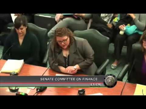 Senate Finance - Katharine Ligon, CPPP - January 31, 2013