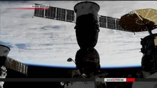 Astronaut Onishi returns to Earth