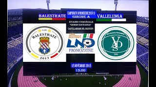Balestrate vs Vallelunga highlights
