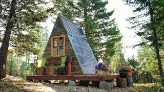 An Off-grid Solar Getaway Cabin For Only $700??