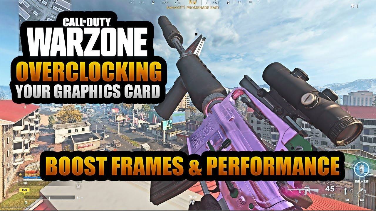 Download How to Overclock Your Graphics Card for Better Frames in Warzone   Best Warzone NVIDIA Settings PC