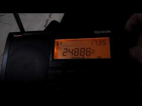 Kurzwellenscan Nachts in Thailand , Radio und Amateurfunk Bänder