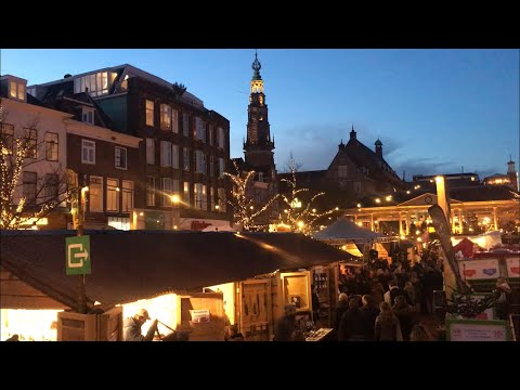 Travel Vlog | My Christmas Market Story | Floating Christmas market | Leiden | Netherlands | 2017