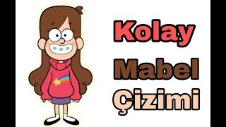 Kolay Mabel çizimi  Esrarengiz kasaba