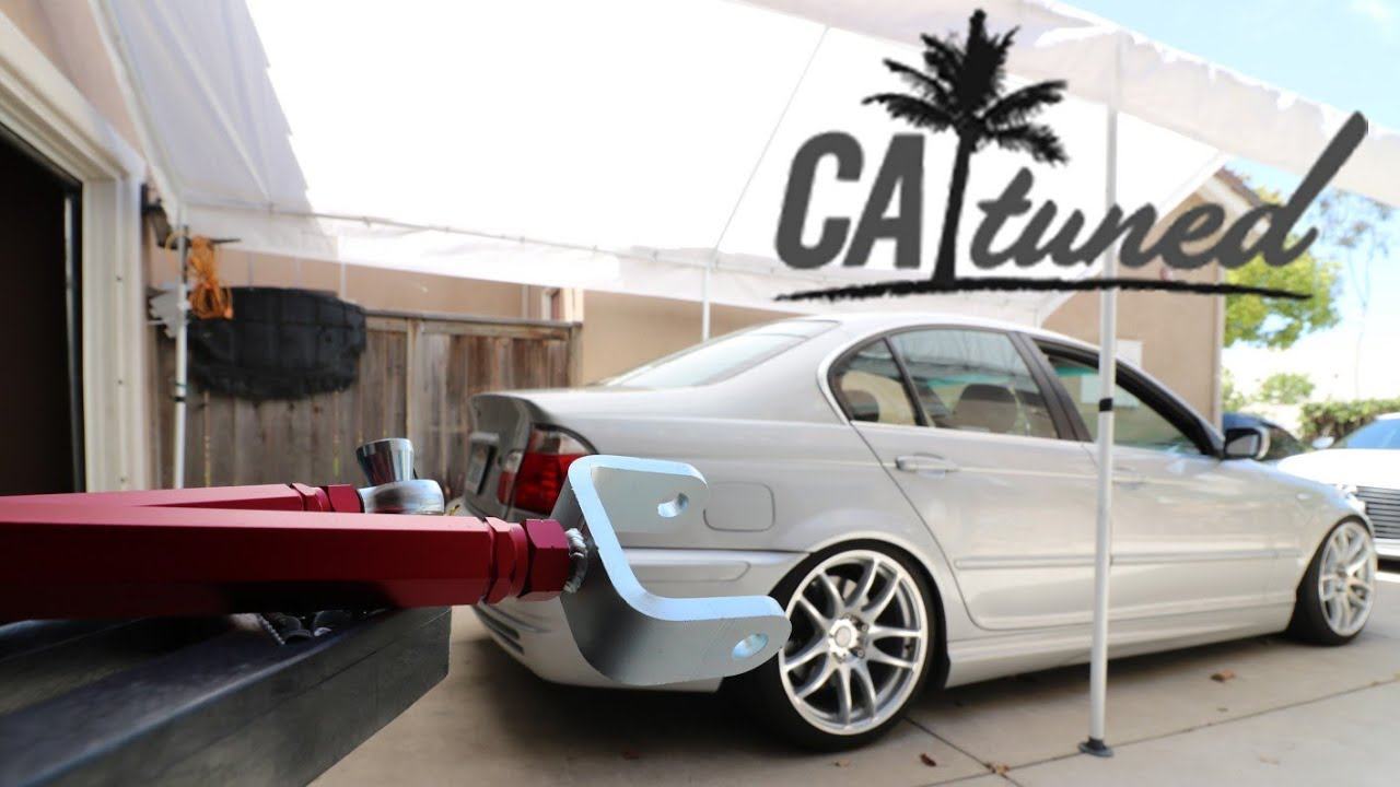 CAtuned Camber Arms Install | BMW E46