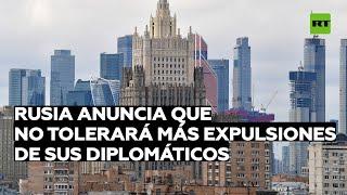 Kremlin avisa que Rusia no tolerará más expulsiones de sus diplomáticos