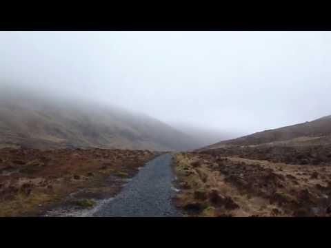 path to castle at Glenveagh Castle