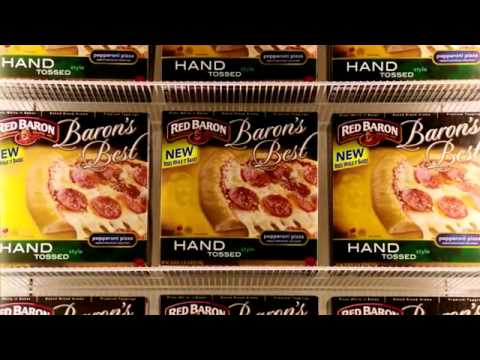 The Avengers Red Baron Pizza Commercial Taste The Legend Youtube