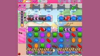 Candy Crush Saga Level 1606  -  no boosters