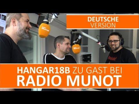 Hangar18b zu Gast bei Radio Munot (Deutsche Version)