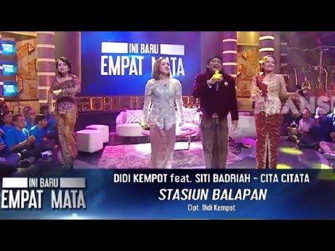 Download musik Stasiun Balapan (Didi Kempot Feat Siti Badriah & Cita Citata | INI BARU EMPAT MATA (26/08/19) Part 8 Mp3 gratis