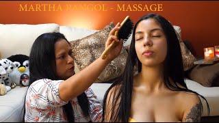MARTHA ♥ PANGOL, ECUADORIAN FULL BODY ASMR MASSAGE, ASMR,  HAIR BRUSHING, Pembersihan, Cuenca Limpia