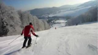 Skiën in Willingen (actie cam)