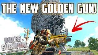 THE GOLDEN GUN! - Rules of Survival: Battle Royale
