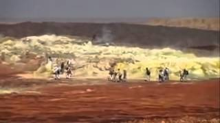 Ethiopia Dallol volcano - the hottest inhabited place on earth