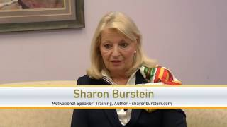 #SCENETV - Author and Motivational Speaker Sharon Burnstein